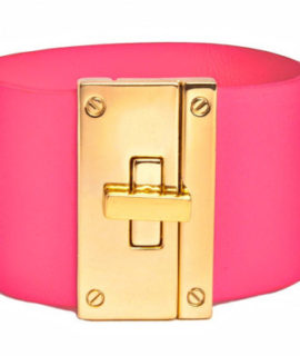 The Resort Cuff in Neon Pink