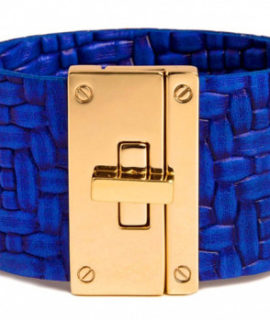 The Resort Cuff in Electric Blue Woven