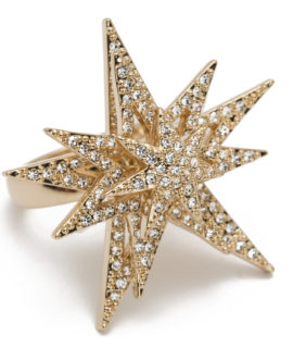 The Spinning Star Ring