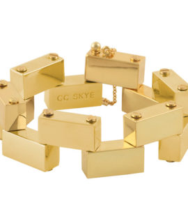 The Brick & Mortar Bracelet Gold