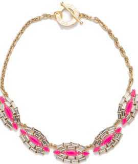 CC SKYE WEB - Queen Rebel Necklace - Neon Pink