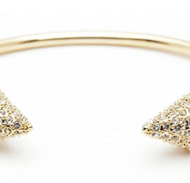 Pavé Double Header Bracelet