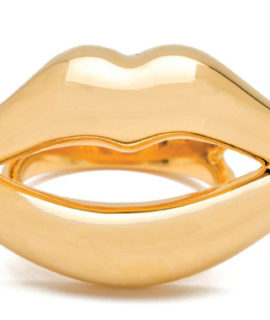 Kiss Me Lips Ring
